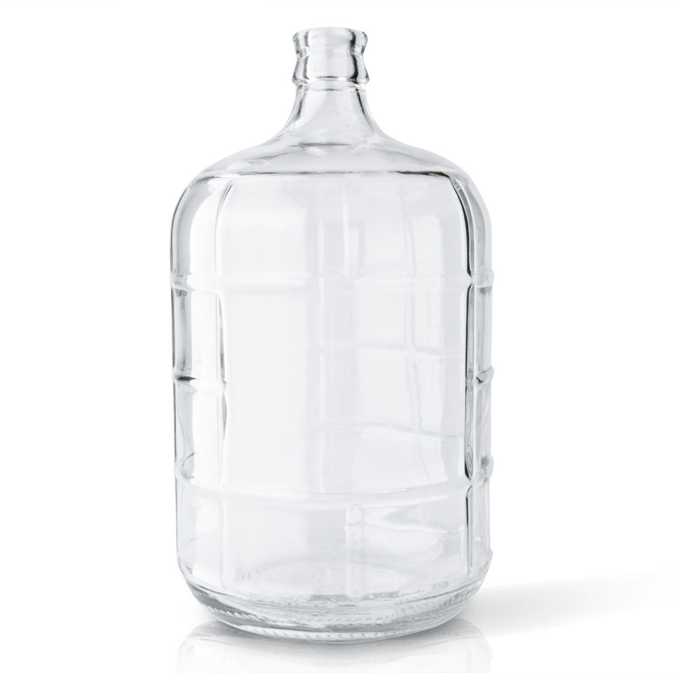 df704e0ff09 3 Gallon Glass Carboy – The Thirsty Quaker