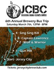 JCBC 2020 Brewery Bus Trip